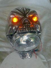 czaszka skull reflektor
