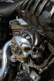 cover skull nakładka na filtr powietrza hypercharger  harley