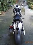 cover skull nakładka na bak do motocykli